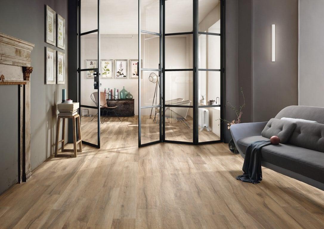 De Imola Kuni BS is een houtlook vloertegel voor de badkamer en woonkamer