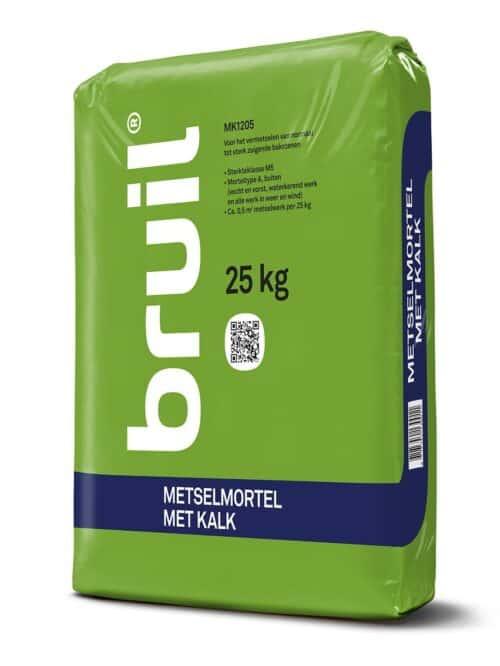 Bruil MK1205 Metselmortel Met Kalk 25 kg