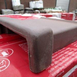 Dege Muurafdekker 22 cm Bruin Mat