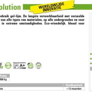 Kerakoll Biogel Revolution Snellijm 25kg
