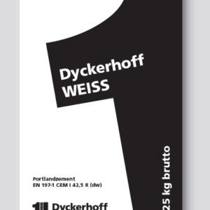 Dyckerhoff Witte Cement Cem I 42