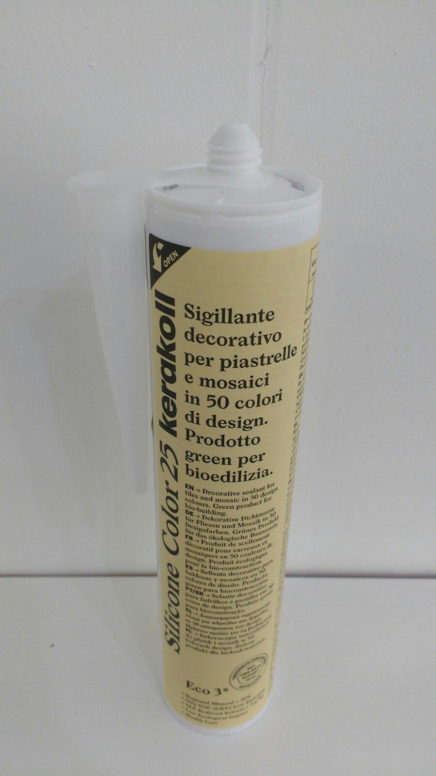 Kerakoll Silicone Color 25 Beige Siliconenkit Badkamer En Toilet