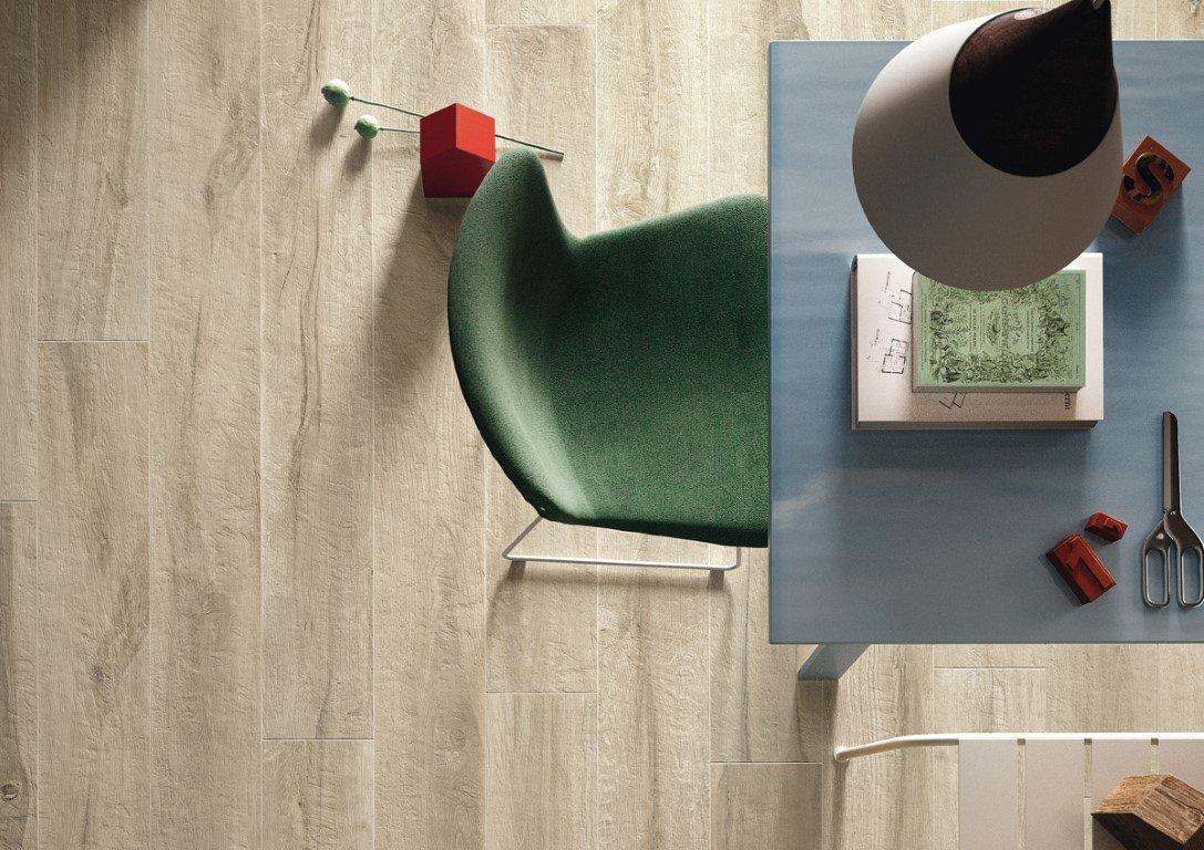 De Imola Kuni A is een houtlook vloertegel, ideaal voor de badkamer of woonkamer