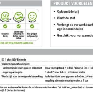 Kerakoll Primer A Eco 5 Kg