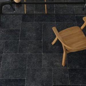 Ermes Pierre Bleue Noir 30x30