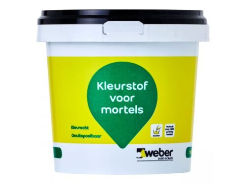 Weber Kleurstof Zwart (Zwartsel) 1 kg