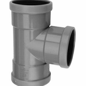 PVC 200 T-stuk 90° 3x Mof (Op=Op)